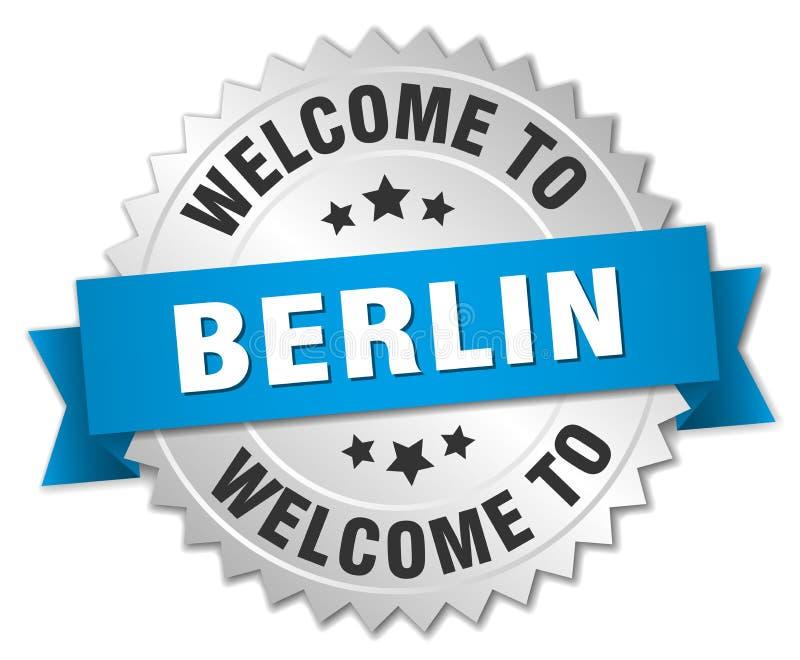 onthaal aan het kenteken van Berlijn vector illustratie