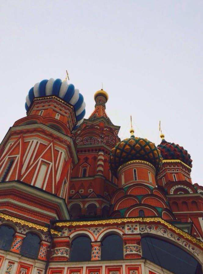 onthaal aan Moskou! stock foto's