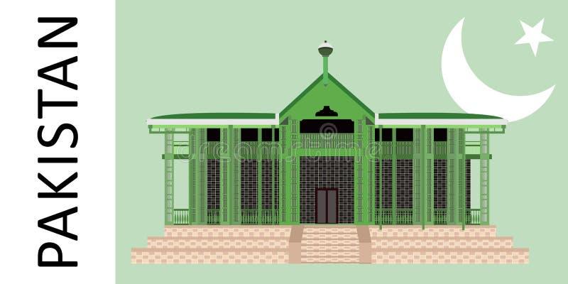 Onthaal aan Pakistan royalty-vrije illustratie