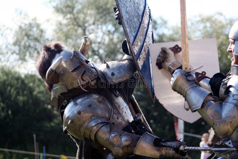 Ontmoet ridder stock afbeeldingen