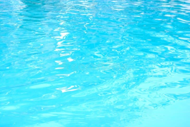Ontruim blauw water royalty-vrije stock fotografie