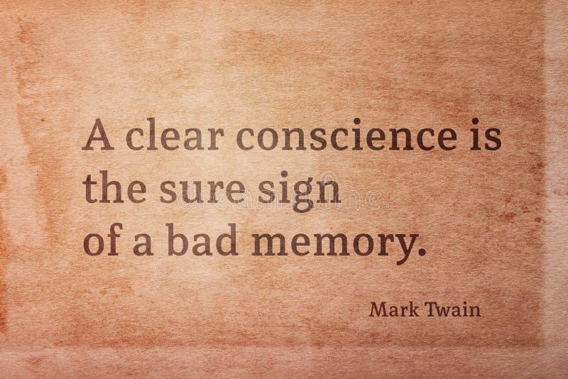 Ontruim teken Twain royalty-vrije stock fotografie