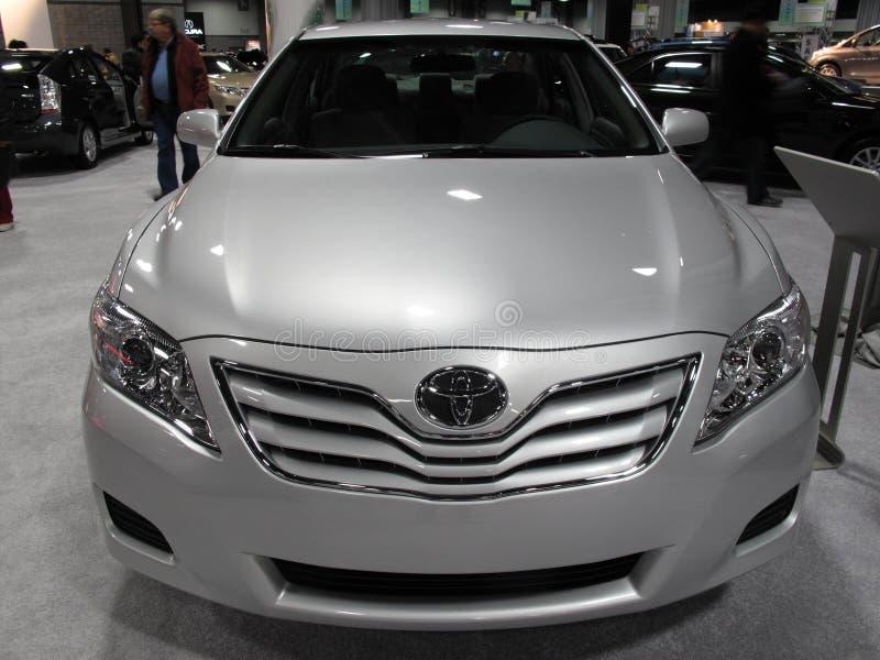 Ontsierd Toyota Camry royalty-vrije stock fotografie