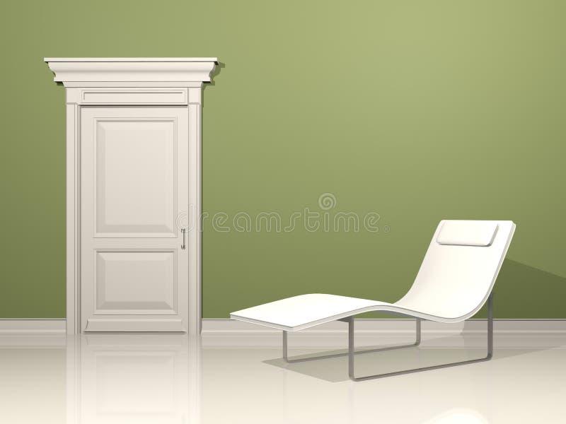 Ontspan Binnenlands ontwerp stock illustratie