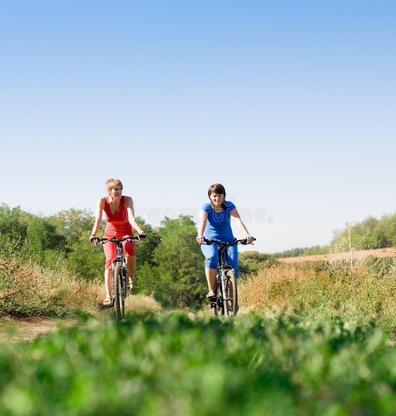 Ontspan het biking stock foto