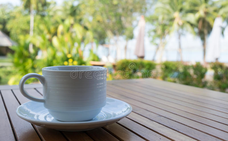 Ontspan met koffie stock afbeeldingen