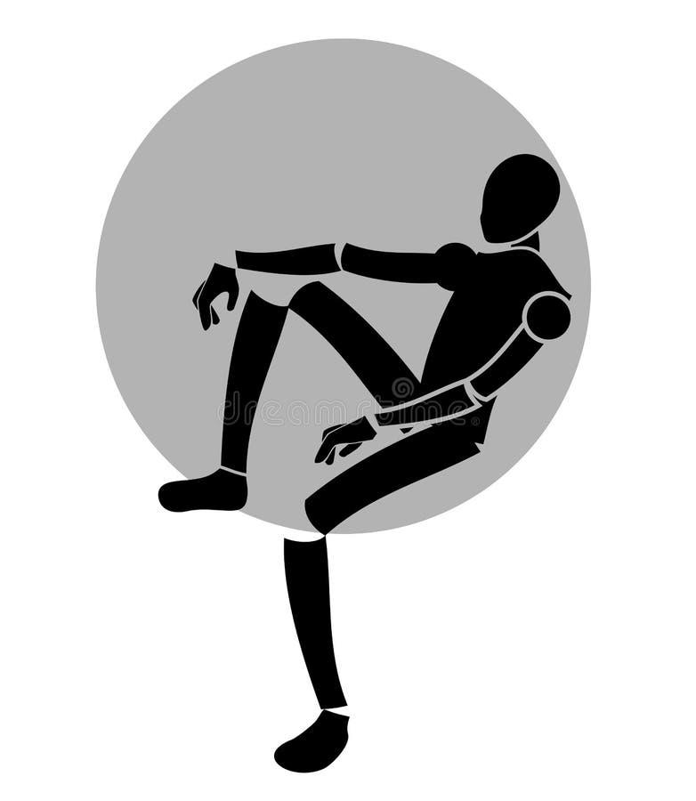 Ontspan pictogram vector illustratie