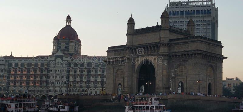 Ontvang van india mumbai royalty-vrije stock afbeelding