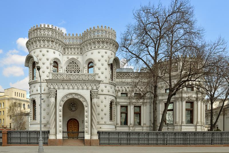 Ontvangsthuis van Ministerie van Buitenlandse zaken van Russische Federatie De bouw werd ontworpen tussen 1894-1898 royalty-vrije stock foto