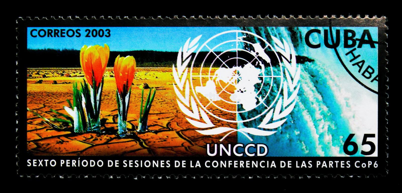 Ontvolking, de V.N.-Conferentie om Ontvolking te bestrijden serie, stock afbeeldingen