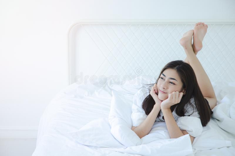 Ontwaken in de ochtend stock fotografie