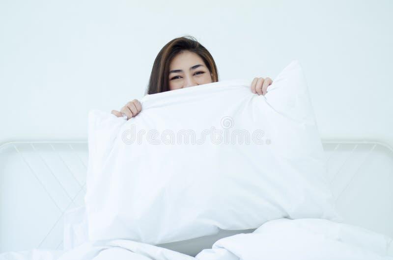 Ontwaken in de ochtend royalty-vrije stock afbeelding