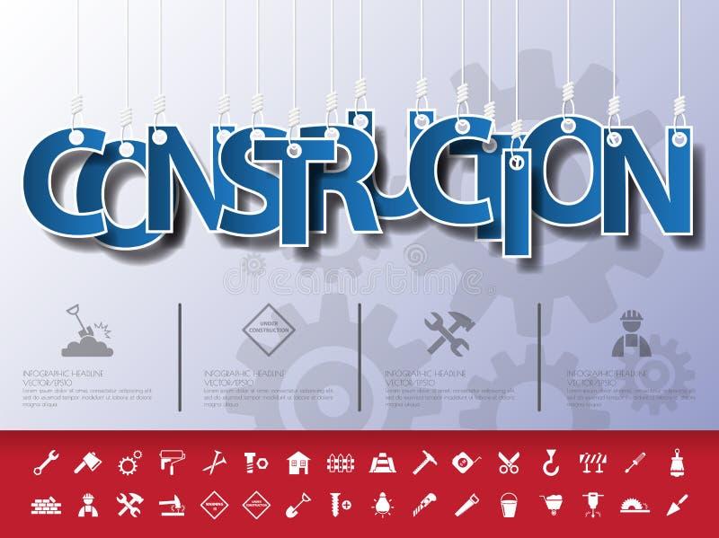 Ontwerp abstracte infographic voorzijde op de kabel Vector/illustratio vector illustratie