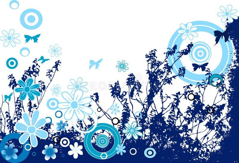 Ontwerp met bloemen vector illustratie