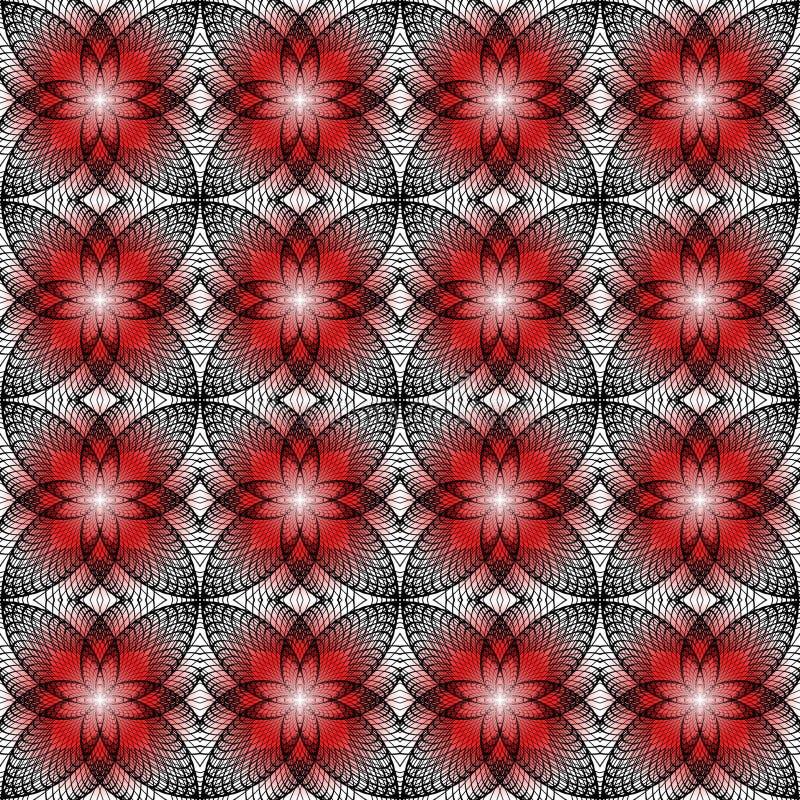 Ontwerp naadloos kleurrijk decoratief patroon. Samenvatting vector illustratie