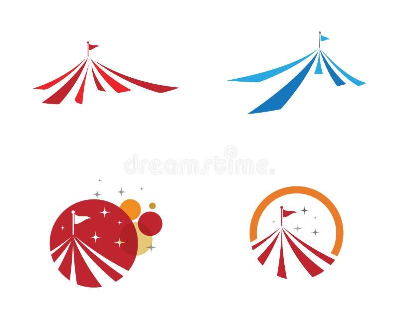 Ontwerp van de circus het vectorillustratie vector illustratie