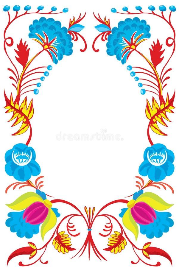 Ontwerp van de kaart van een Nieuwjaar met kleuren. royalty-vrije illustratie
