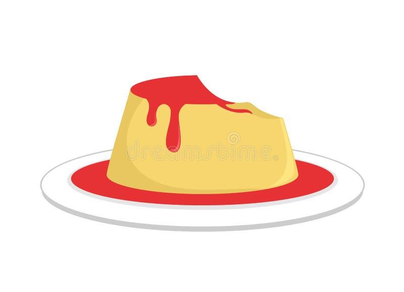 Ontwerp van dessertillustratie stock illustratie