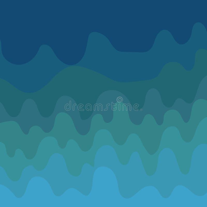 Ontwerp van het bedrijfsconcepten Lege exemplaar ruimte moderne abstracte Golf als achtergrond Vector Multitone blank copy space  vector illustratie