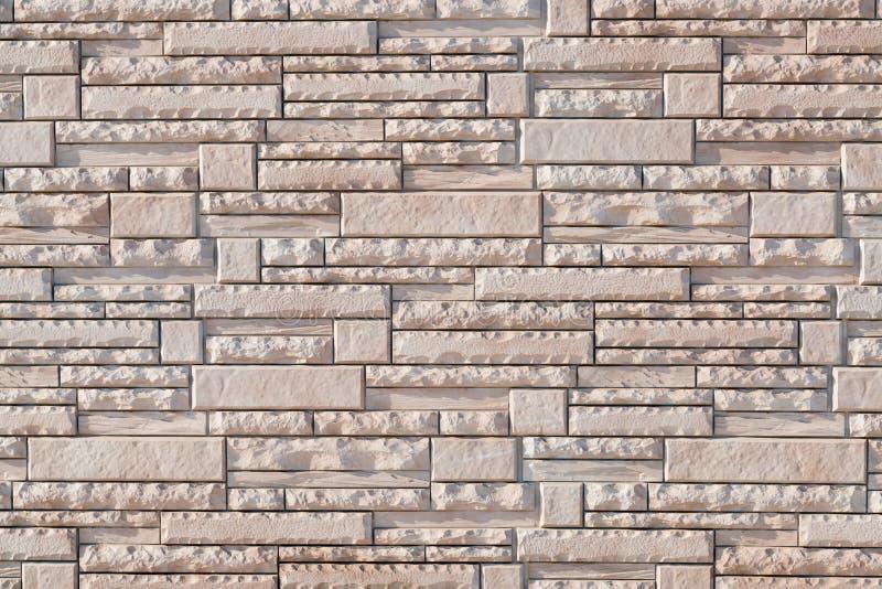 Ontwerp van het de muur het moderne patroon van de baksteenstapel royalty-vrije stock foto