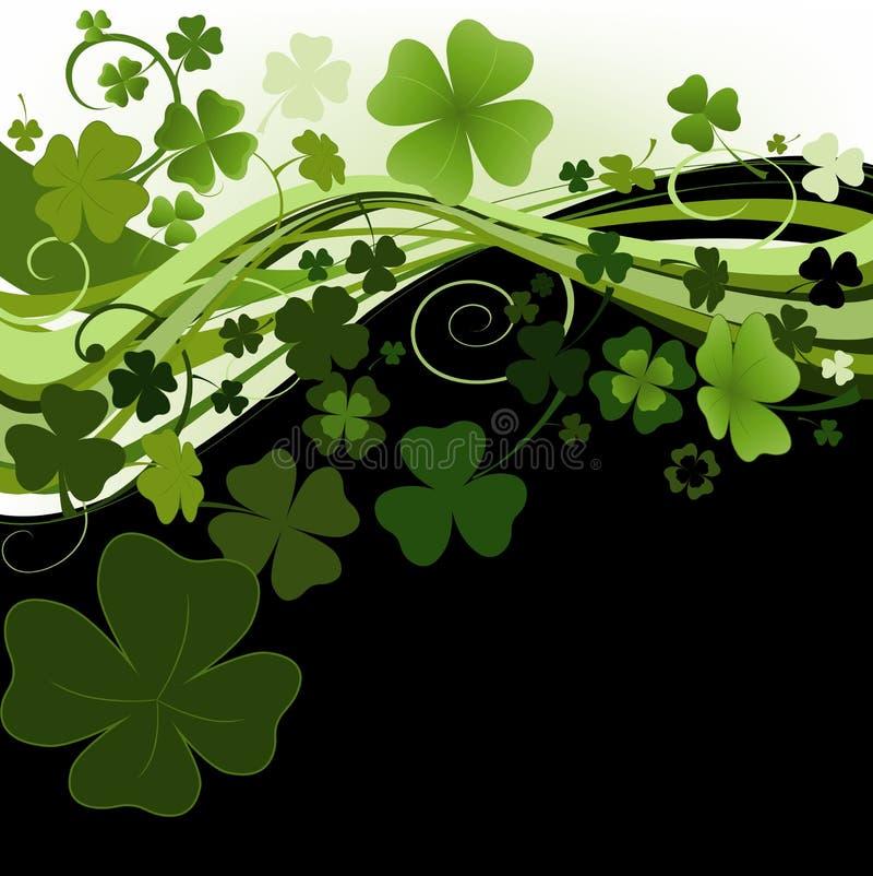 Ontwerp voor St. Patrick Dag royalty-vrije illustratie