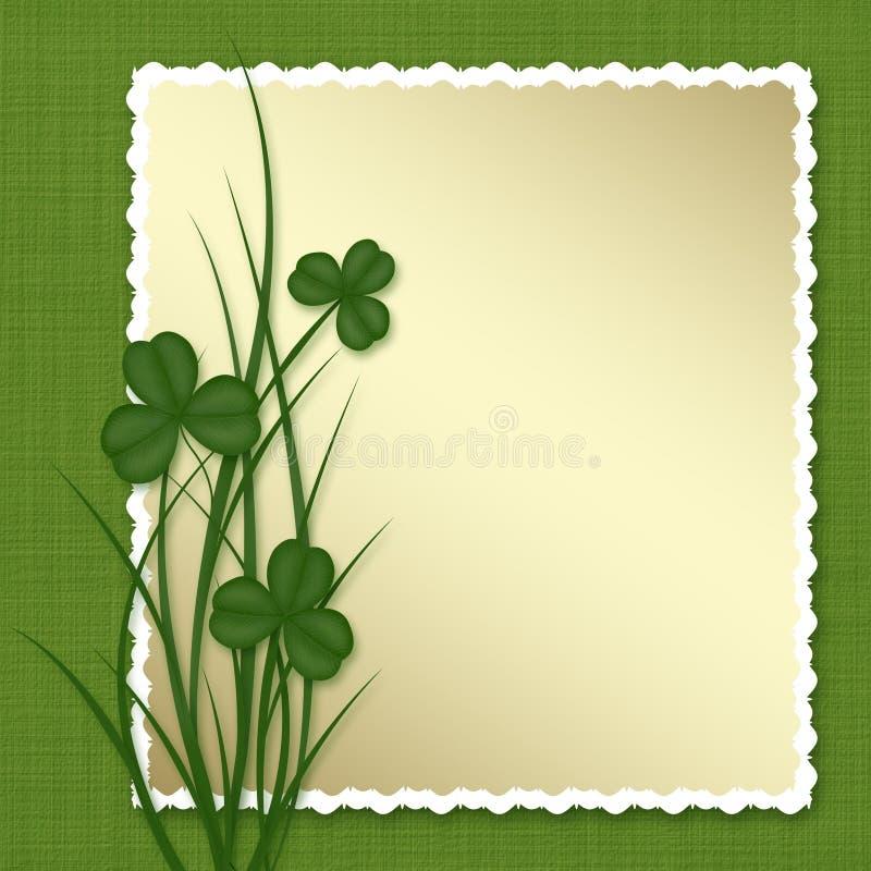 Ontwerp voor St. Patrick Dag. stock illustratie