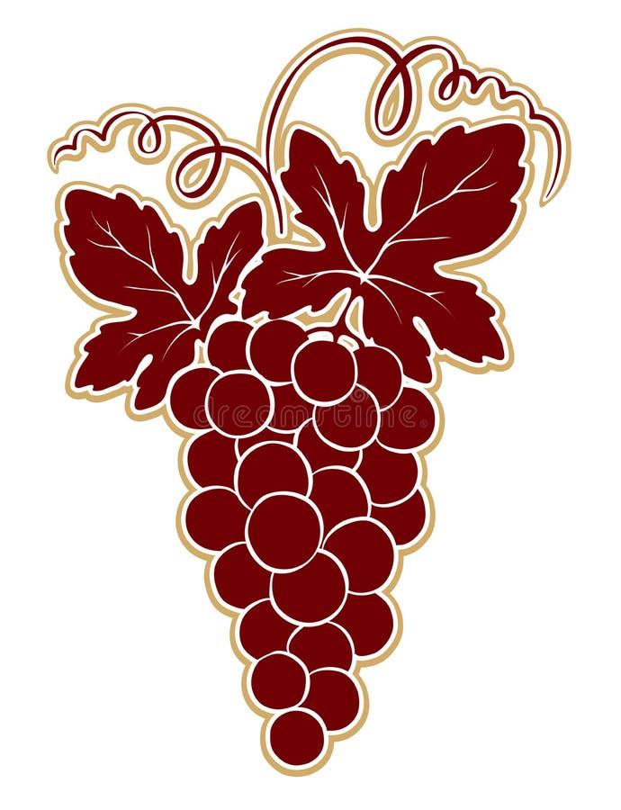 Download Ontwerpelement -- Bos Van Druiven Vector Illustratie - Illustratie bestaande uit nave, ingrediënt: 39107081