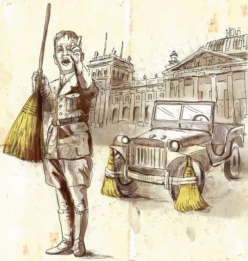 Ontwerper royalty-vrije illustratie
