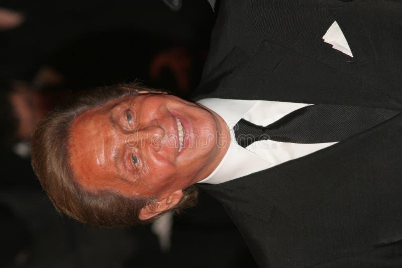 Ontwerper Valentino Garavani stock foto