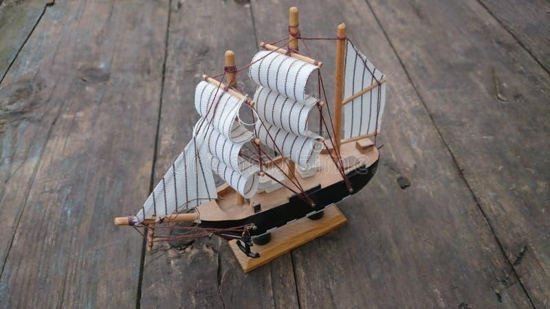 Ontwerper van kleine boten stock foto
