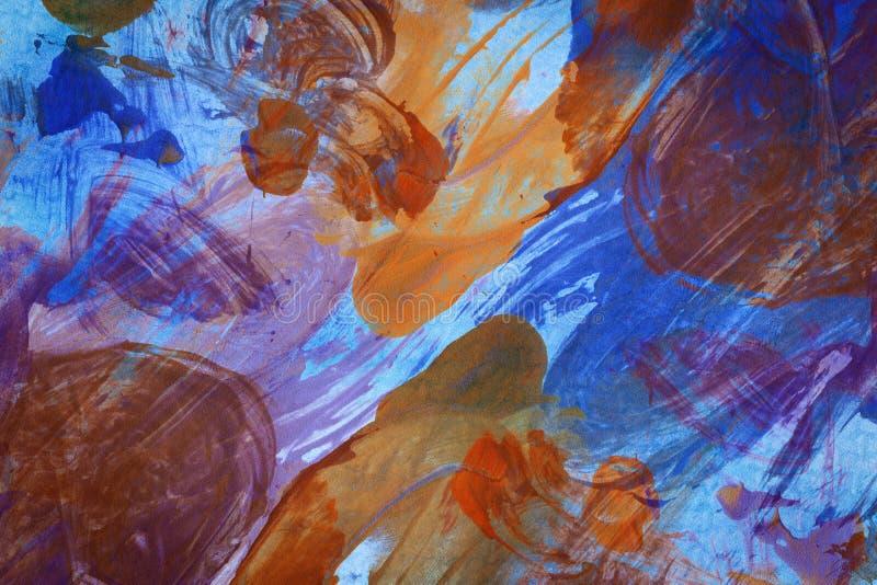Ontworpen abstracte kunstachtergrond royalty-vrije illustratie