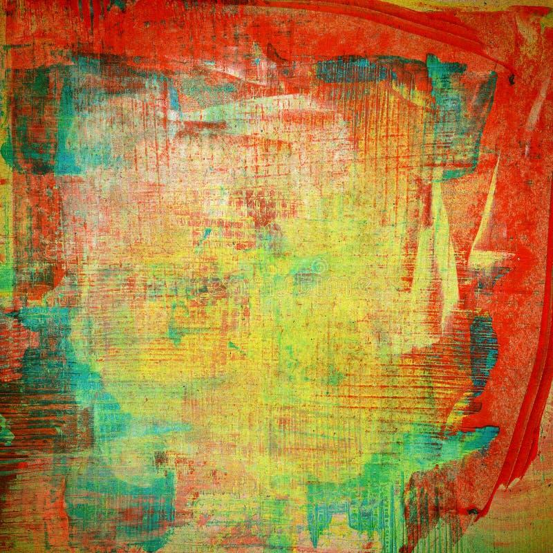 Ontworpen abstracte kunstachtergrond stock illustratie