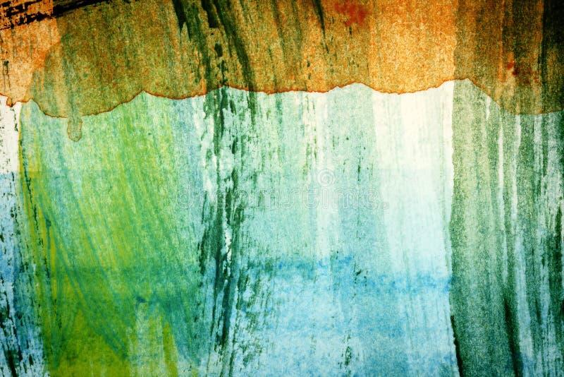 Ontworpen abstracte kunstenachtergrond stock illustratie