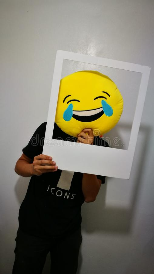 Ontworpen achter Geluk stock foto