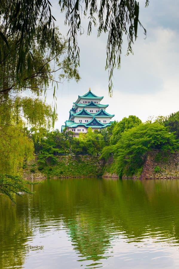 Ontworpen Hangende de Bladerenboom V van Nagoya Kasteel royalty-vrije stock afbeeldingen