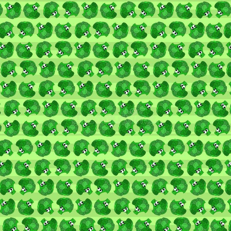 Ontzagwekkende Broccolis vector illustratie