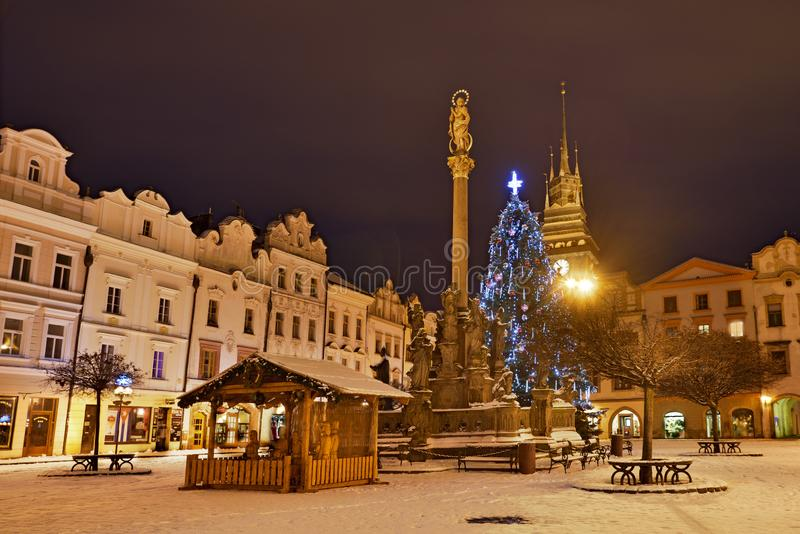 Ontzagwekkende stad en moderne technologie royalty-vrije stock foto