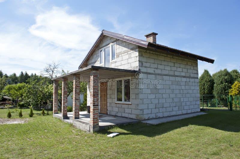 Onvolledig huis royalty-vrije stock fotografie