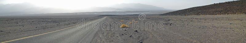 Onvruchtbaar het Landschapspanorama van de doodsvallei royalty-vrije stock foto's