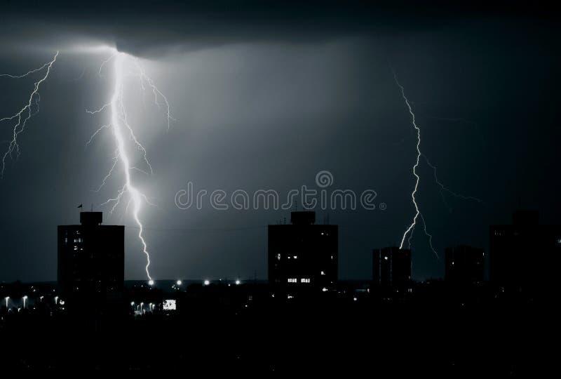 Onweer stock afbeelding