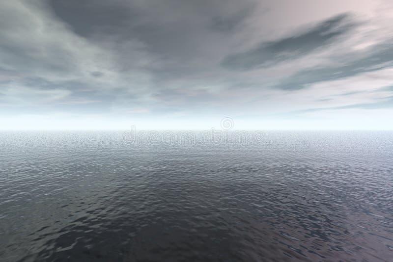 Onweer vector illustratie