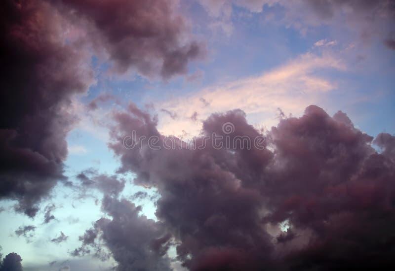 Onweer Clouds2 royalty-vrije stock afbeelding