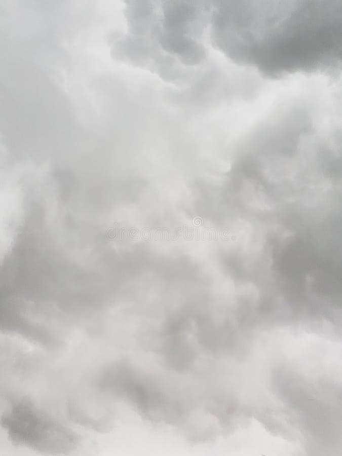 Onweer die in burnsville Minnesota rollen royalty-vrije stock afbeelding