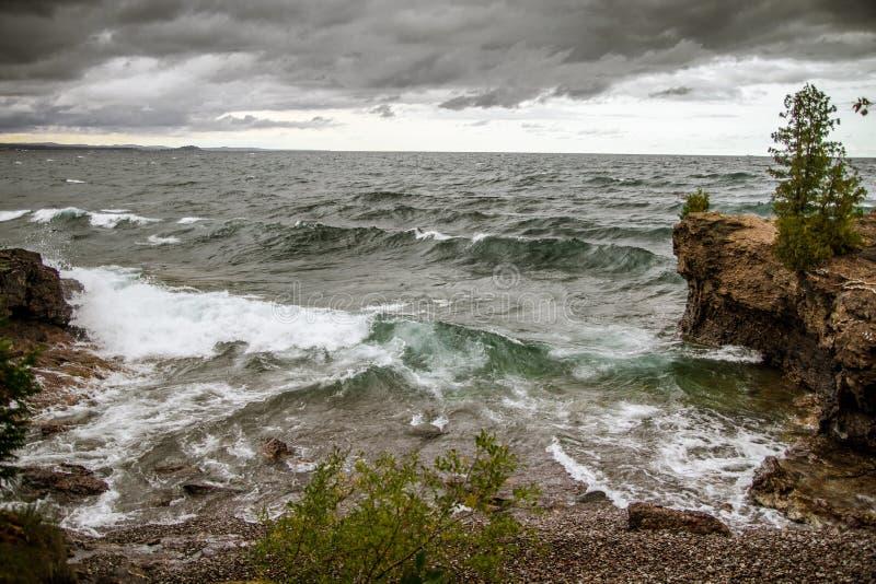 Onweer op de Horizon stock afbeelding