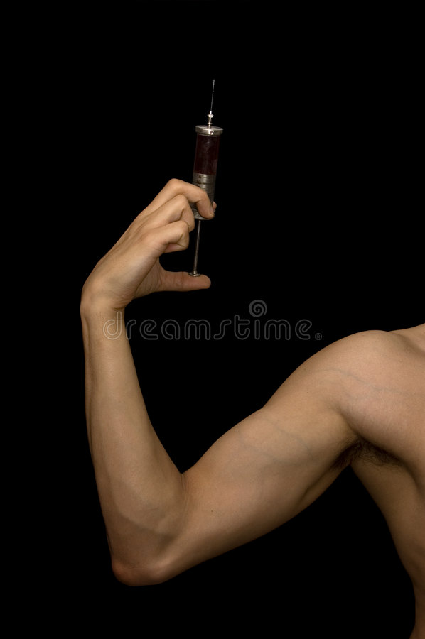 Onwettig verdovend middel stock fotografie