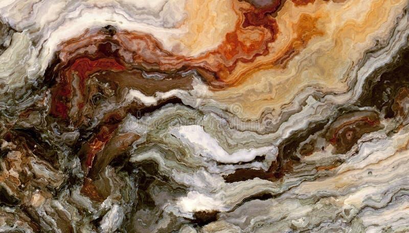 Onyksowa abstrakcjonistyczna tekstury płytka ilustracji