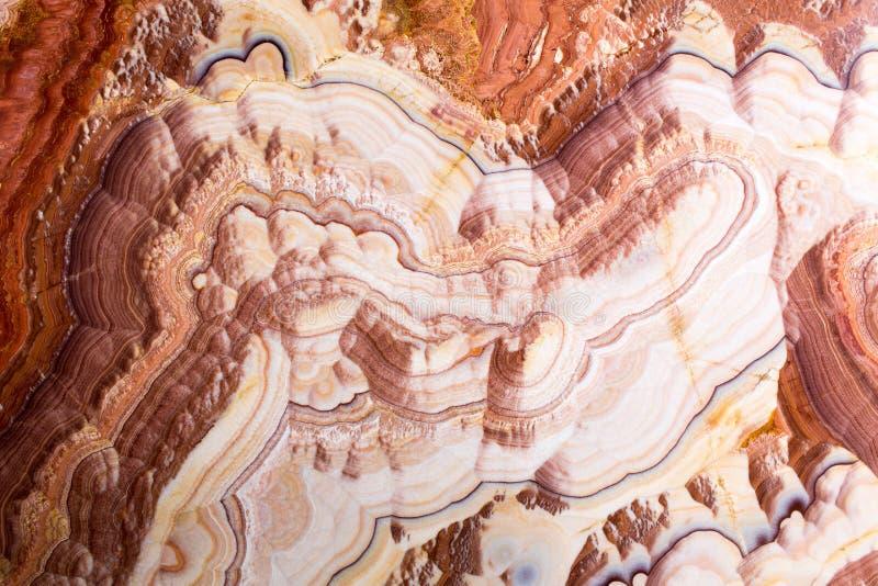 Onyksowa tekstura jako tło Abstrakcjonistyczny naturalny kamienny tło zdjęcie stock