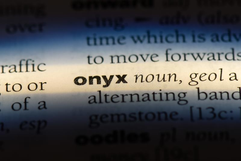 onyx fotografia de stock royalty free