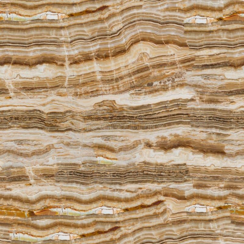Onyx bakgrund av den naturliga stenen Sömlös fyrkantig textur, klar tegelplatta royaltyfri foto