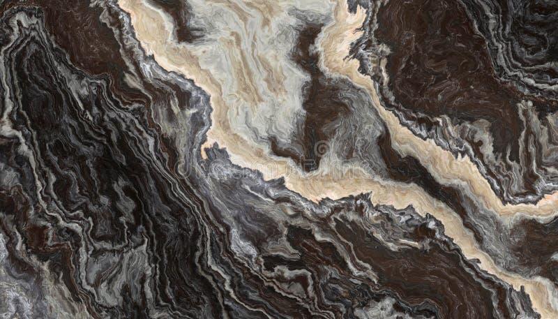 Onyx in bianco e nero illustrazione vettoriale